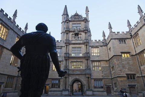 Die Bodleian Library der Universität Oxford.Foto:Steve Vidler/Photoshot/dpa/Archiv