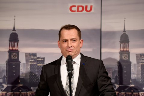 Hamburgs CDU-Chef Roland Heintze. Foto: Daniel Reinhardt/dpa