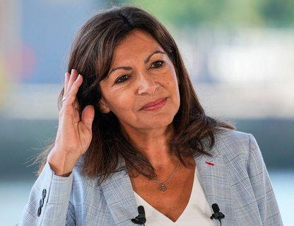 Die bekannte sozialistische Bürgermeisterin von Paris, Anne Hidalgo, möchte Präsidentin werden. Foto:Michel Euler/AP/dpa